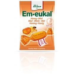 CARAMELOS EM-EUKAL MIEL 50G
