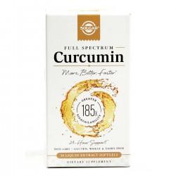 SOLGAR FULL SPECTRUM CURCUMIN 30 PERLAS