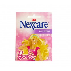 TIRITAS NEXCARE SENSITIVE DISEÑO BARBIE 10 UNIDA