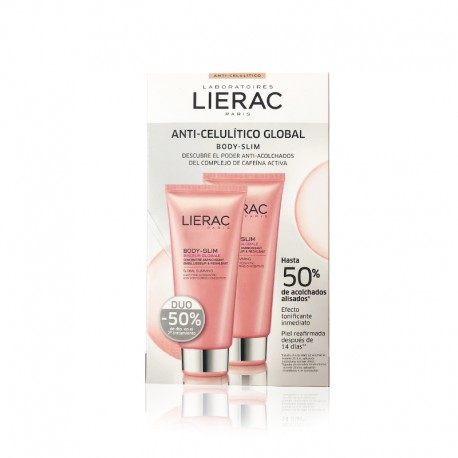 LIERAC BODY SLIM ANTI-CELULITICO GLOBAL DUPLO 2X200ML