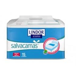 LINDOR AUSONIA SALVACAMAS 60X90CM 15 UNIDADES