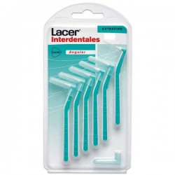 LACER CEPILLO INTERDENTAL EXTRAFINO ANGULAR 6 UDS