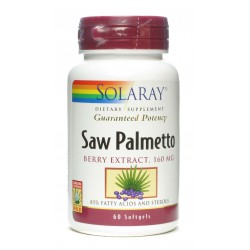 SOLARAY SAW PALMETTO 60 PERLAS
