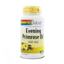 SOLARAY EVENING PRIMROSE OIL ACEITE ONAGRA 90 PERLAS