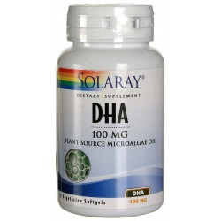 SOLARAY DHA NEUROMINS 100MG 30 PERLAS