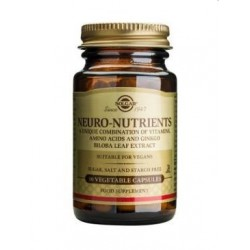 SOLGAR NEURO NUTRIENTS 60 CAPSULAS