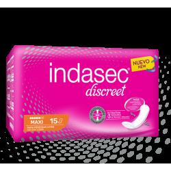 INDASEC DISCREET MAXI 15 UDS