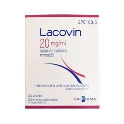 LACOVIN 20 MG/ML SOLUCION CUTANEA 4 FRASCOS 60ML