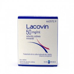LACOVIN 50 MG/ML SOLUCION CUTANEA 2 FRASCOS 60ML