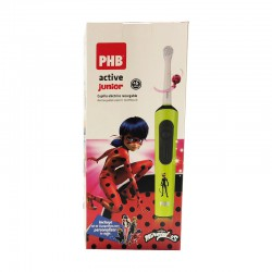 PHB CEPILLO DENTAL ELECTRICO ACTIVE JUNIOR LADYBUG VERDE