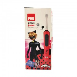 PHB CEPILLO DENTAL ELECTRICO ACTIVE JUNIOR LADYBUG ROJO