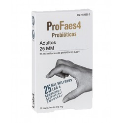 PROFAES4 PROBIOTICOS ADULTO 25MM 30 CAPS