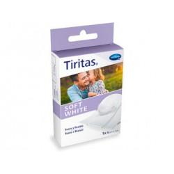 TIRITAS HARTMANN SOFT WHITE 1MX8CM 1UD
