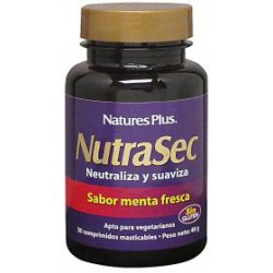 NATURE'S PLUS NUTRASEC 30 COMPRIMIDOS MASTICABLES