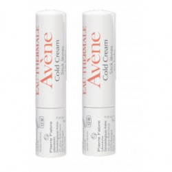 AVENE DUPLO STICK LABIAL COLD CREAM  2X4G