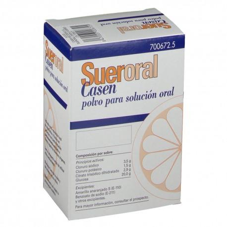 SUERORAL CASEN 5 SOBRES POLVO SOLUCION ORAL