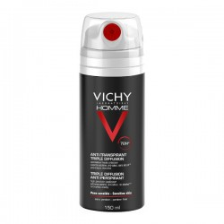 VICHY HOMME DESODORANTE SPRAY 72H 150ML