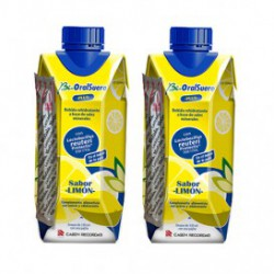 BIORALSUERO PLUS 330ML 2UDS SABOR LIMON