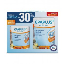 EPAPLUS ARTHICARE COLÁGENO SABOR VAINILLA ECOPACK  326G + 326G