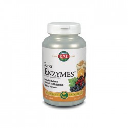 SOLARAY KAL SUPER ENZYMES 60 COMPRIMIDOS