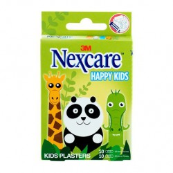 NEXCARE TIRITAS HAPPY KIDS ANIMALES 20 UNIDADES