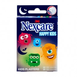 NEXCARE TIRITAS HAPPY KIDS MONSTER 20 UNIDADES