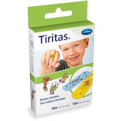 HARTMANN TIRITAS INFANTILES SURTIDO 20 UDS