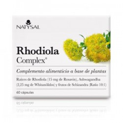 NATYSAL RHODIOLA COMPLEX 60 CAPSULAS