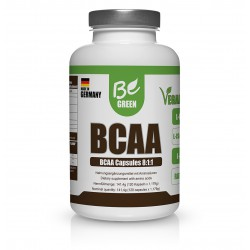 BE GREEN BCAA 120 CAPSULAS