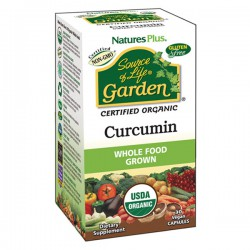 NATURE'S PLUS SOURCE OF LIFE GARDEN CURCUMIN 30 CAPSULAS