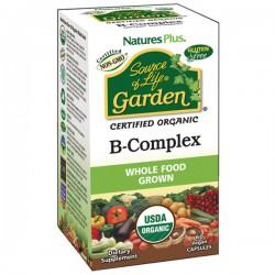 NATURE'S PLUS SOURCE OF LIFE  GARDEN B-COMPLEX 60 CAPSULAS