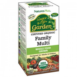 NATURE'S PLUS  SOURCE OF LIFE GARDEN FAMILY MULTI 60 COMPRIMIDOS MASTICABLES