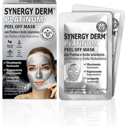 SYNERGY DERM PLATINUM PEEL OFF MASK 4 MASCARILLAS