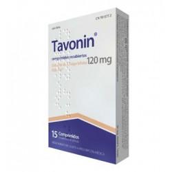 TAVONIN 120MG 15 COMPRIMIDOS RECUBIERTOS