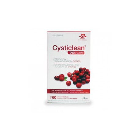 CYSTICLEAN 240MG PAC 60 CAPSULAS