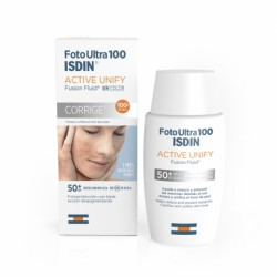 FOTOULTRA 100 ISDIN ACTIVE UNIFY FUSION FLUID SPF50+ 50ML