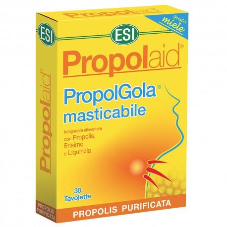 PROPOLAID PROPOLGOLA MASTICABLE MIEL 30 TABLETAS