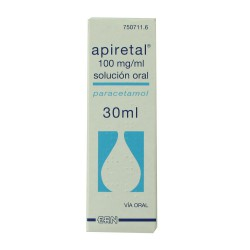 APIRETAL 100 MG/ML SOLUCION ORAL 30ML