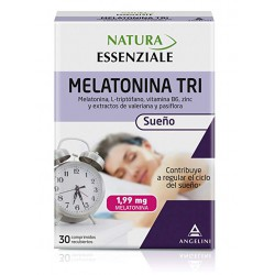 ANGELINI MELATONINA TRI 1.99MG 30 COMPRIMIDOS