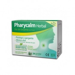 PHARYCALM HERBAL 24 COMPRIMIDOS PARA CHUPAR