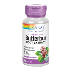 SOLARAY BUTTERBUR ROOT EXTRACT PETASITA 60 CAPSULAS