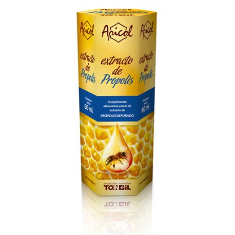 TONGIL APICOL EXTRACTO PROPOLIS S/AL 60ML