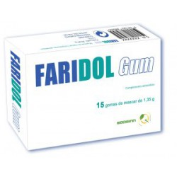 FARIDOL GUM 15 CHICLES