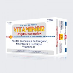 VITAMINOR ORIGANO COMPLEX 60 PERLAS
