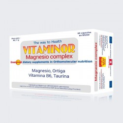 VITAMINOR MAGNESIO COMPLEX 60 CAPS