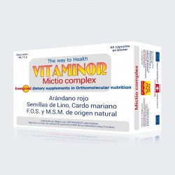 VITAMINOR MICTIO COMPLEX 60 CAPS