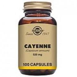 SOLGAR CAYENA CAPSICUM 100 CAPSULAS