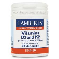 LAMBERTS VITAMINA D3-K2 60 CAPS
