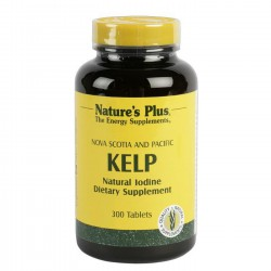 NATURES PLUS KELP YODO 300 TABLETAS