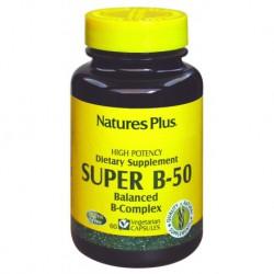 NATURES PLUS SUPER B 50 MG  60 CAPS
